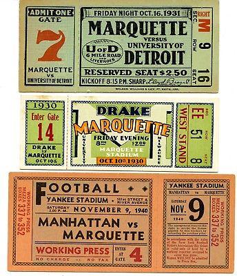 2018 03Mar 22 1930 40 Marquette v Drake Detroit Manhattan College Football