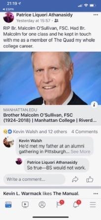 2018 12Dec 22 Brother Malcolmb